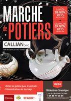 Marché de potiers à Callian (Var), les 28 et 29 novembre 2015 - artisans et artistes créateurs, des objets uniques
