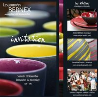 Portes ouvertes à l'atelier de céramique Romain Bernex à Aubagne | les 21 et 22 novembre 2015 | Santons et poterie, visite d'ateliers, démonstrations, tournage, fabrication de santon