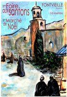 Foire aux santons à Fontvieille (Bouches du Rhône) les 7 et 8 novembre 2015 - marché de Noël, crèches et santons