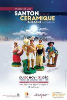 Foire aux santons, Marché au Santon et à la Céramique d'Aubagne (Bouches du Rhône), du 20 novembre au 31 décembre 2015