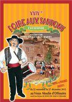 Foire aux santons d'Ollioules (Var) du 22 novembre au 27 décembre 2015 - crèches et santons, tradition provençale