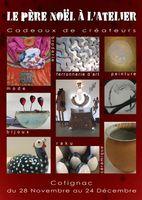 Exposition-vente métiers d'art à Cotignac (Var) du 28 novembre au 24 décembre | Cuisson raku les week-ends