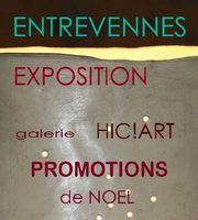 Exposition-vente à la Galerie céramique HIC!ART! à Entrevennes (Alpes de haute Provence) du 4 au 20 décembre 2015 - promotions de Noël sur des pièces uniques et objets déco