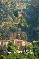 Cap d'an 2015, Exposition céramique à Moustiers (Alpes de Haute Provence) du 12 au 29 décembre 2015