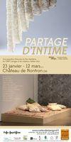 Exposition, Partage d'intime au Château de Nontron (Dordogne) du 23 janvier au 12 mars 2016