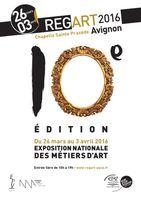 Exposition Métiers d'art, Regart, à Avignon (Vaucluse) du 26 mars au 3 avril 2016