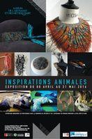 Exposition à la Maison des Métiers d'Art de Marseille (13), Inspirations animales du 8 avril au 21 mai 2016