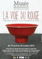 La Voie du Rouge, Exposition Musée de la Poterie Méditéranéenne (Gard), du 10 avril au 30 octobre 2016