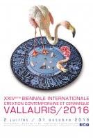 XXIVème Biennale Internationale de Céramique à Vallauris - du 2 juillet au 31 octobre 2016