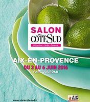 Salon Vivre Côté sud à Aix en Provence, Parc Jourdan, du 3 au 6 juin 2016