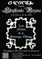 Exposition Stéphanie Rozène, Galerie C K'omsa à Vallauris - du 20 mai au 26 juin 2016