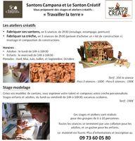 Au pays du santon, construisez votre crèche et moulez vos santons ! à Aubagne (13)