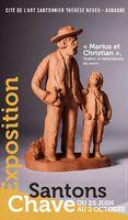 Santons Chave, Marius et Christian - Exposition Cité de l'Art Santonnier à Aubagne du 25 juin au 2 octobre 2016