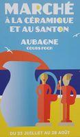 Marché à la céramique et aux santons d'Aubagne (Bouches du Rhônes) du 23 juillet au 28 août 2016