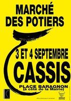 Marché potier de Cassis (Bouches du Rhône) les 3 et 4 septembre 2016 - céramique et poterie