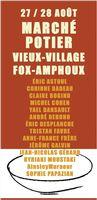Marché potier de Fox-Amphoux (Var), les 27 et 28 août 2016 - céramique et poterie