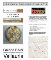 Exposition céramique à Vallauris - Le 1er jeudi du mois, c'est vernissage à Vallauris