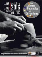 Les Journées Nationales de la Céramique, partout en France les 15 et 16 octobre 2016