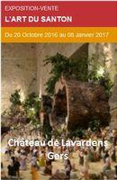 L'Art du santon au Château de Lavardens (Gers) du 20 octobre au 8 janvier 2017