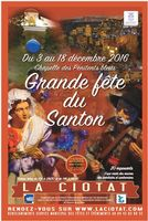 Foire aux santons de la Ciotat (Bouches du Rhône), du 3 au 18 décembre 2016