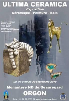 4 avril au 30 sept.2010 | Exposition Ultima Céramica à Orgon