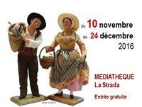 Foire aux santons de Mouans-Sartoux (Alpes Maritimes) du 10 novembre au 24 décembre 2016
