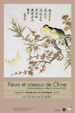 Jusqu'au 31 juillet 2010 | Fleurs et oiseaux de Chine au Musée des arts asiatiques de Toulon