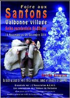 Foire aux santons de Valbonne (Alpes Maritimes) du 15 novembre au 24 décembre 2016