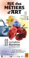 Salon Rue des Métiers d'Art de Nontron en Périgord, les 28, 29 et 30 octobre 2016