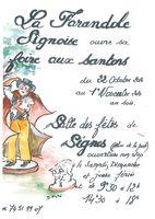 Foire aux santons de Signes (Var) du 22 octobre au 1er novembre 2016