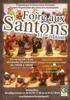 Foire aux santons de Châteauneuf les Martigues (13) du 18 au 20 novembre 2016 - crèche et santons de Noël