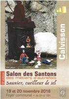Salon des Santons des métiers d'autrefois à Calvisson (Gard) les 19 et 20 décembre 2016