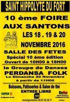 Foire aux santons de Saint Hippolyte du Fort (Gard) du 18 au 20 novembre 2016