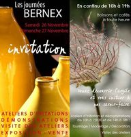 Les journées Bernex à Aubagne, 26 et 27 novembre 2016 - Céramique - Art de la table, bijoux, poteries de jardin