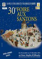 Foire aux santons d'Ollioules (Var) du 20 novembre au 27 décembre 2016 - crèches et santons de Provence