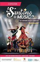 Santons & Music - Exposition à la Cité de l'Art Santonnier Thérèse Neveu jusqu'au 17 mars 2017