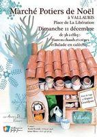 Marché Potiers de Noël de Vallauris (Alpes Maritimes) le dimanche 11 décembre 2016