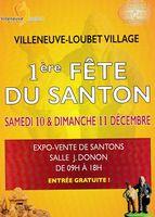 Foire aux santons à Villeneuve Loubet (Alpes Maritimes) les 10 et 11 décembre 2016