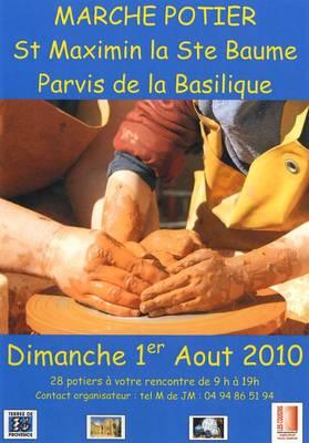 1er août 2010 | 1er marché potier de Saint-Maximin