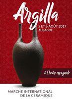 Argilla 2017, 5 et 6 août à Aubagne en Provence - céramique et poterie, pièces uniques, vaisselle, bijoux, déco, jardin...