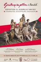 Exposition céramique à Bandol (Var), Le Printemps des Potiers du 15 avril au 1er mai 2017