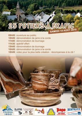 14 août 2010 | Marché potier de Prapic -Orcières (05)