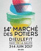 Marché potier  à la Maison de la Céramique du pays de Dieulefit (Drôme), les 3 et 4 juin 2017