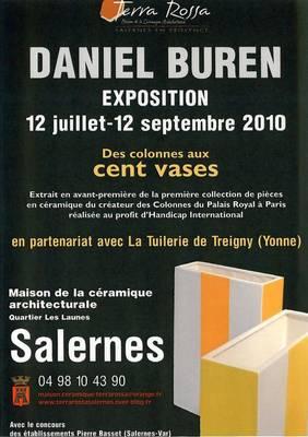 12 juillet au 12 septembre 2010 | Exposition Daniel Buren à Terra Rossa à Salernes