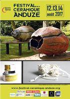 Festival de la céramique à Anduze (Gard) du 12 au 14 août 2017 - céramique, poterie, animations