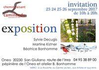 Exposition CAMINENDU à San Giuliano (Corse) du 23 au 26 septembre 2017 - céramique et peinture