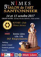 Salon de l'Art Santonnier de Nïmes (Gard) les 14 et 15 octobre 2017 - foires aux crèches et santons