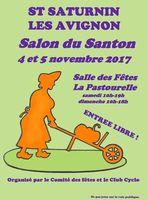 foire aux santons de Saint Saturnin les Avignon (Vaucluse) les 4 et 5 novembre 2017- santons et crèches de Noël