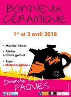 Marché potier de Bonnieux (Vaucluse), les 1 et 2 avril 2018 - céramique et poterie