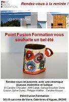 Point Fusion Formation, rendez-vous à la rentrée pour tout un programme !
